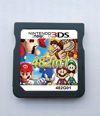 482 in 1 Video Games Cartridge Card For Nintendo NDS NDSI NDSL 2DS 3DS
