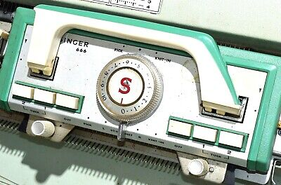Singer Knitting Machine Sewing Model 666 Vintage  Rare Collectible Retro crafts