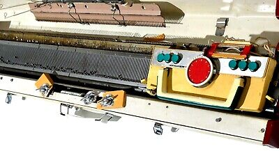 Vintage Knitting Machine Sewing Singer Model 305 Automatic Retro Japan Parts VGC