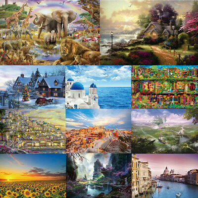 1000 Piece Jigsaw Puzzle Landscapes Decompression Game Toy Difficulty