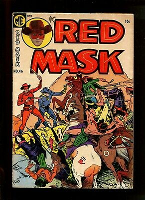 Red Mask #46 (6.0) Death Mission 1955