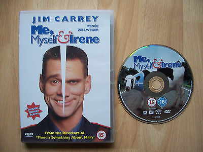 DVD Me, Myself & Irene staring Jim Carrey