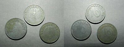 Germany : 3 X Third Reich Coins