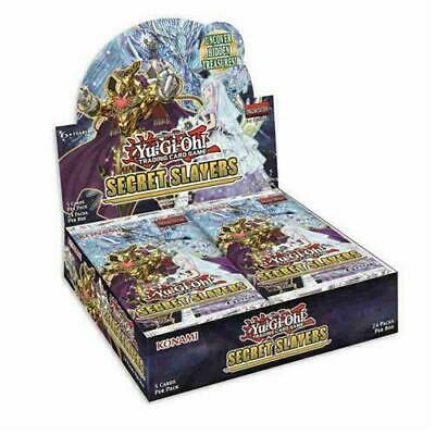 Yugioh TCG Secret Slayers 1st Edition Booster Box Factory Sealed 24 Packs