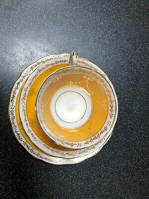 Old English Grosvenor China Tea Cup & Saucer with Side Plate