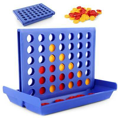 Connect Four In A Row 4 In A Line Board Games Kid Children Educational Toys (3+)