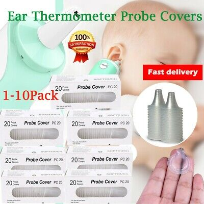 For Braun Thermoscan Probe Covers Replacement Lens Ear Thermometer Filter Caps