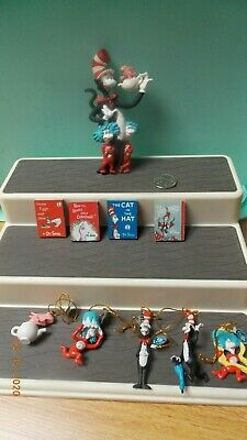 Lot of Dr. Seuss Cat in the Hat items