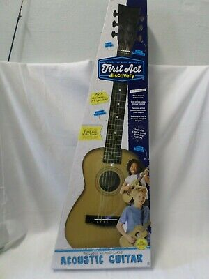 "First Act Discovery Acoustic Guitar Child's 30"" Natural Color with Box"