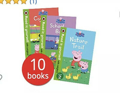 10X Ladybird Learn To Read Peppa Pig Books Early Learning Educational ABC School