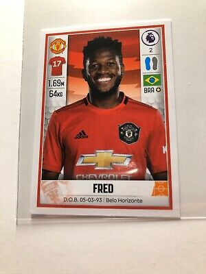 Panini Football 2020 - Fred (Manchester United) #391