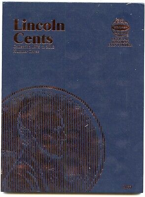 Coin Folder - Lincoln Cents 1975 - 2013 Penny Set - Whitman Album 9033 pennies