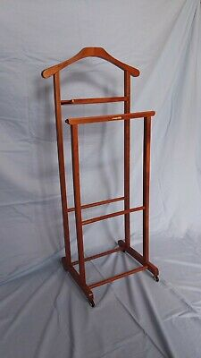 Unique Vintage 1950's Reguitti Butler Double Valet Stand (made in Italy)