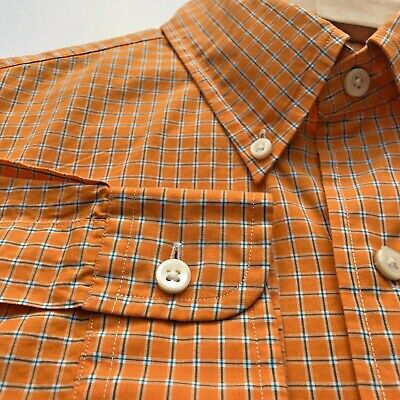 Polo Ralph Lauren Mens Button Down Front Shirt Long Sleeve Med Fitted 15.5 / 39