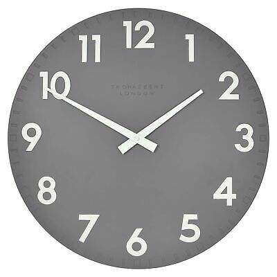 NEW 51cm Slate Camden Wall Clock - Thomas Kent,Clocks