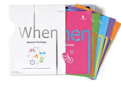 When Variety Pack Of 5 Hydrating Face Masks New in Box Bio-Cellulose Sheet Masks