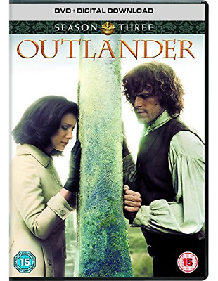 Outlander - Season 3 [DVD] [2017], Very Good DVD, Caitriona Balfe, Sam Heughan,