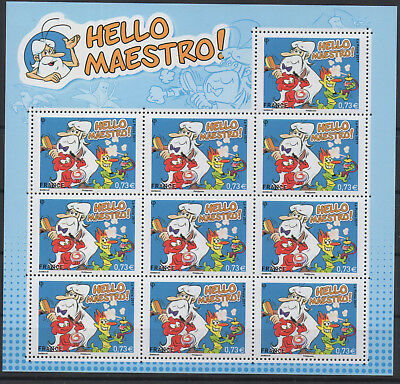France 2017 - mini-feuillet Bloc 10 timbres Hello Maestro LUXE MNH RARE !