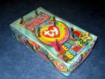 1999 TY BEANIE BABIES SERIES 3 COLLECTORS CARDS 2ND EDITION SEALED BOX 24 PACKS