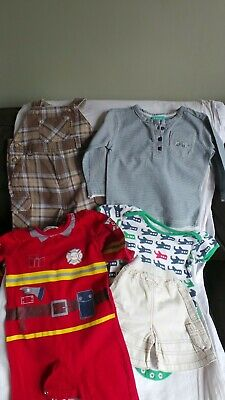 Bundle x5 items Boys clothing Age 6-12 months VGC Monsoon Carters Earlydays Moth