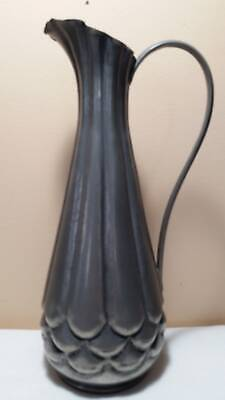 A. E. Chanal pewter pitcher art Nouveau exclellent patina alice eugene