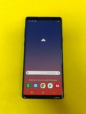 Samsung Galaxy Note 9 SM-N960U - 128GB -  Black (Unlocked) Smartphone