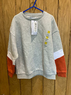 Marks & Spencer M&S Kids Boys Jumper Size 7-8 Years, BNWT - free delivery
