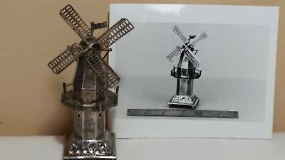 Sterling windmill Dutch silver intricate details