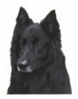 CLEARANCE...Car Window BELGIAN SHEEPDOG Dog Breed Decal 2-sided
