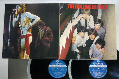 ROLLING STONES SUPERDISC LONDON GXF-9033,4 Japan VINYL 2LP