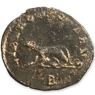 253-268 A.D. Roman Empire Antoninianus, Gallienus, Libero,Tiger or Panther