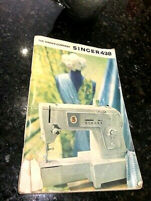 Singer 438 Sewing Machine Instruction Manual-1971-GB-Form No:K8626 (671)-Orig.
