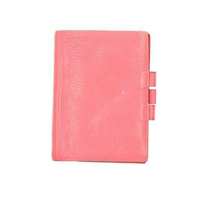 Hermes Agenda Pm X Engraved Notebook Cover / Pink Sk03 Accessory 512002 Second