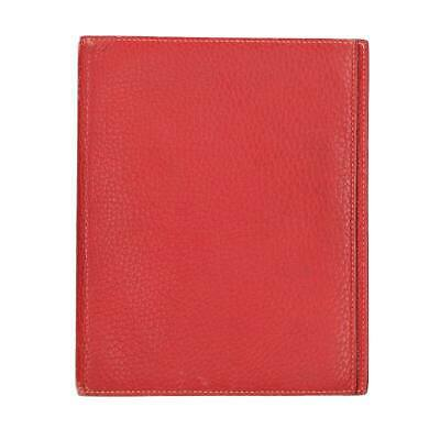 Hermes Agenda Gm Leather Notebook Cover / Red Bs99 Accessory 522191 Second Hand