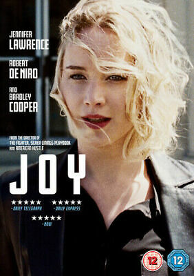 Joy DVD (2016) Jennifer Lawrence, Russell (DIR) cert 12 . NEW & SEALED.