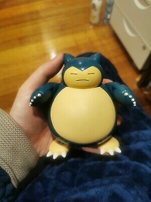 "TOMY Pokemon, Snorlax, Soft Belly, Hyper Action 5"" Figure"