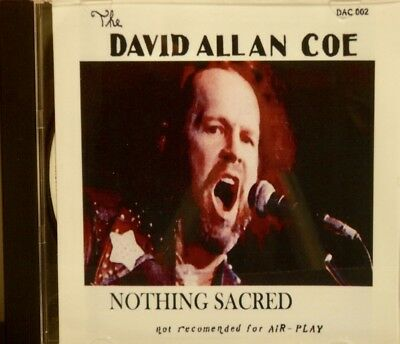THE DAVID ALLAN COE 'Nothing Sacred' - X Rated Tracks