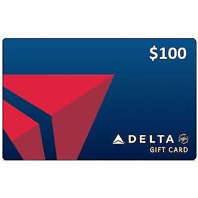 Delta Airlines $100 gift card | Fast Delivery
