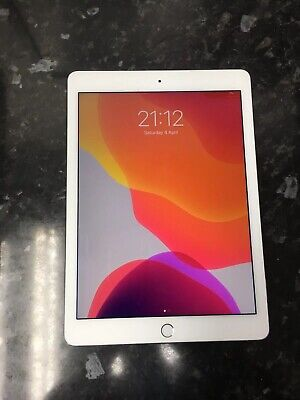 "Apple iPad Air 2 A1566 Retina Display 16GB WiFi 9.7"" SILVER Touch iD Grade B"