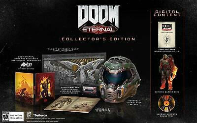 DOOM Eternal Collector's Edition for PC Windows Brand New Sealed **IN HAND**