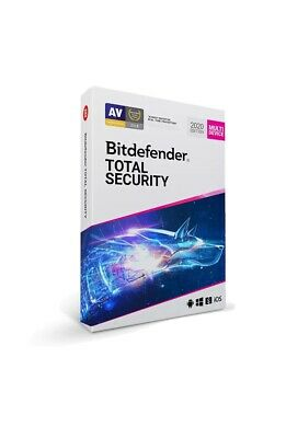 Bitdefender Total Security 2020 4 Months 5 devices GLOBAL License Key