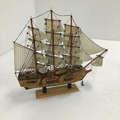 HMS Victory Wooden Assembled Model Tall Ship Nautical 52cm #940