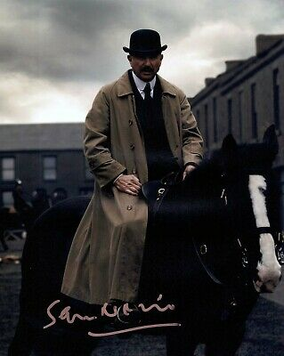 Sam NEILL SIGNED Photo AFTAL Autograph COA Inspector CAMPBELL Peaky Blinders
