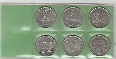 GREECE SET OF USED GREEK COINS 1990