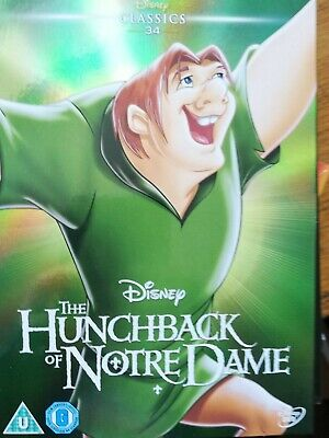 The Hunchback Of Notre Dame DVD Disney SEALED no 34 in white in O ring sleeve