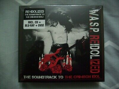Wasp Reidolized The Sountrack To The Crimson Idol Cd Dvd Blu-Ray New&Sealed