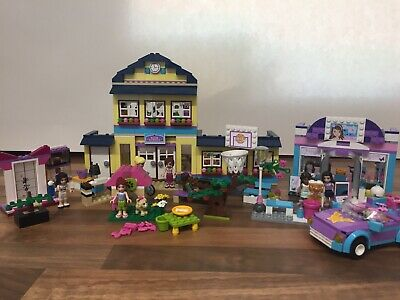 LEGO FRIENDS BUNDLE - 5 SETS inc 41005 HEARTLAKE HIGH BARGAIN PRICE JOB LOT