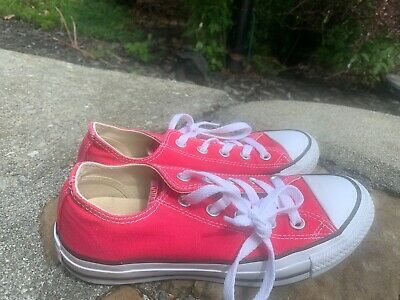Converse All Star Shoes 6M Pink Casual Dress Great Condition