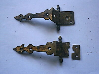 Longcase Grandfather Clock  Door Hinges  C1750