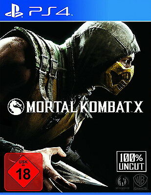 Sony Playstation 4 PS4 Spiel Mortal Kombat X